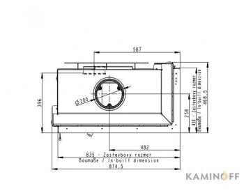 Камінна топка Romotop Heat R 2g S 81.51.40.21