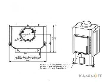 Камінна топка Romotop Dynamic 2G 35.46.01