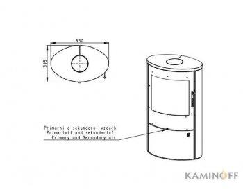 Конвекционная печь Romotop OVALIS 02