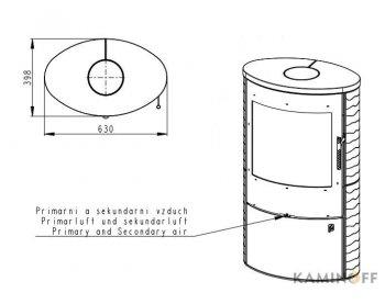 Конвекционная печь Romotop OVALIS 01