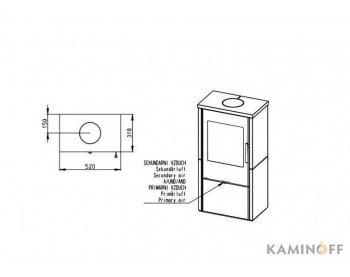 Конвекционная печь Romotop ALPERA F01