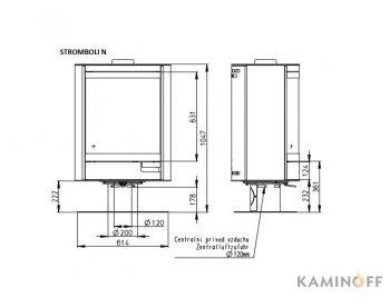 Конвекционная печь Romotop STROMBOLI N 02