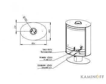 Конвекционная печь Romotop STROMBOLI N 04