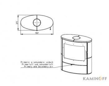 Конвекционная печь Romotop NAVIA 01