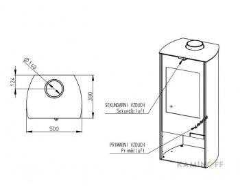 Конвекционная печь Romotop TALA 06