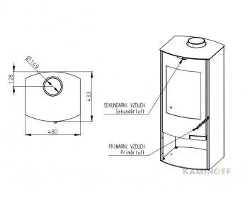 Конвекционная печь Romotop TALA 01