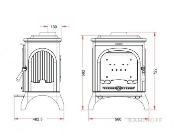 Конвекционная печь Invicta Seville 2 антрацит