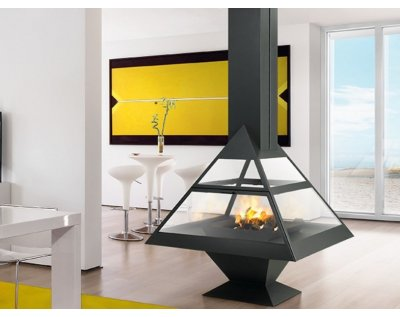 Дизайнерский камин Traforart Admeto Central