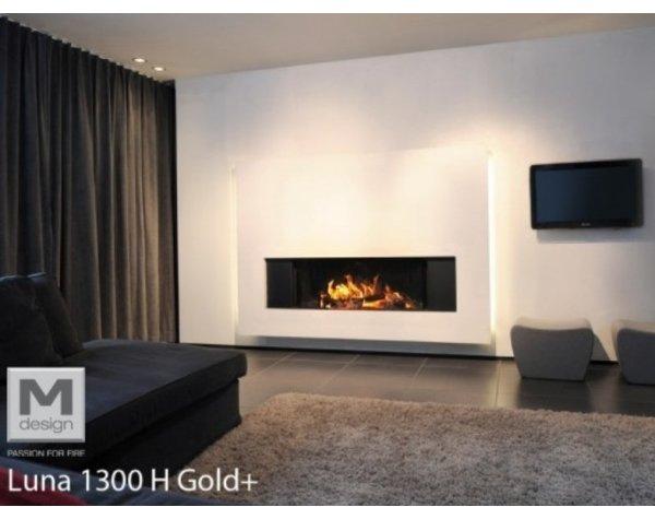 Камінна топка M-Design Luna 1300H Gold+