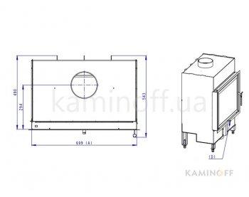 Конвекционная топка Romotop Basic 2g 70.50.01