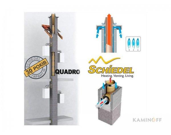 Керамические дымоходы Schiedel QUADRO