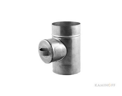 Дымоход из нержавеющей стали ревизия AISI 304 0,5мм
