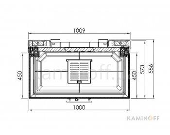 Конвекционная топка Spartherm Arte 3RL 100h