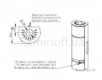 Конвекционная печь Romotop BELO 3S 01 А