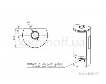 Конвекционная печь Romotop Belo 3s 02