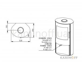 Конвекционная печь Romotop ALPERA E03