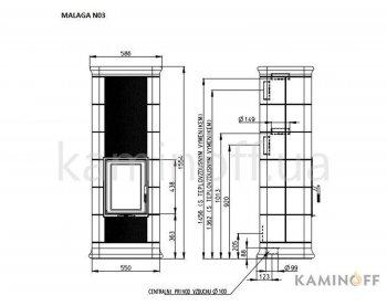 Конвекционная печь Romotop MALAGA N 03