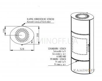 Конвекционная печь Romotop Laredo 03 Akum