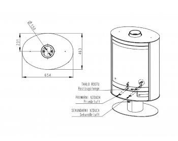 Конвекционная печь Romotop Stromboli N 03