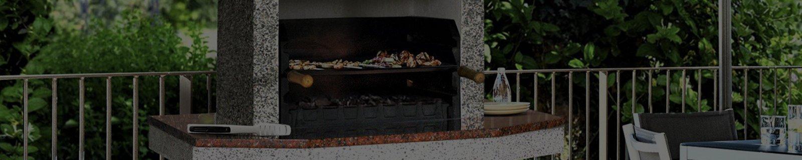 Чугунные грили-мангалы | Готовые решения с установкой - Kaminoff™