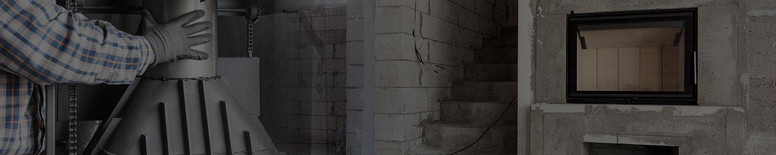 Двери, стекло, шнуры, клея для каминов купить в Киеве. Установка, монтаж. Заказать. Цены, фото, сайт - Kaminoff