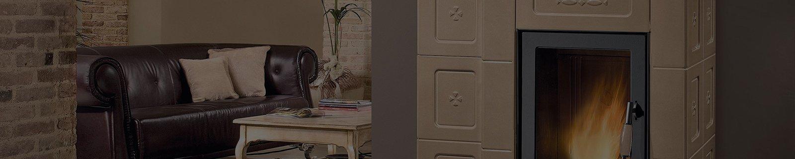 Камин в стиле кантри в интернет-магазине │ Kaminoff.ua